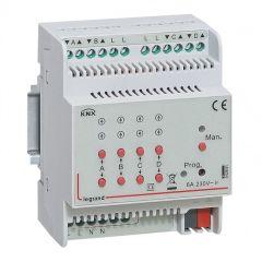 Contrôleur modulaire BUS/KNX - volets roulants - 4 sorties 2,1 A - 4 mod