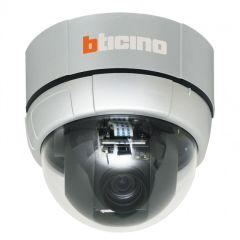 Caméra dôme motorisée analogique - 12X - 560 lignes - IP30 - fixation plafond
