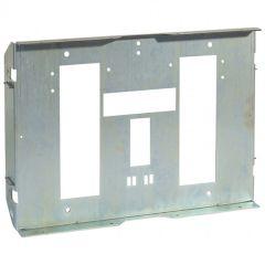 Dipositif de fixation XL³ 4000 - 2 DPX 1600 débro - inverseur source - horiz