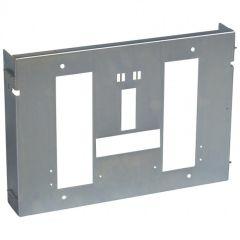 Platine réglable XL³ 4000 - 1 DPX 1600 débro prises arrières - horizontal