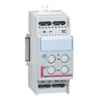 Télévariateur - pour sources fluo ballast électro 1-10 V - 800 VA - 2 mod