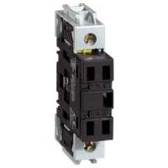 Pôle additionnel - inter sectionneur rotatif - composable - neutre - 32 A