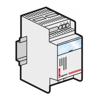 Alimentation pour télévariateur - pour 8 commandes auxil. - 230 V~ - 2 mod