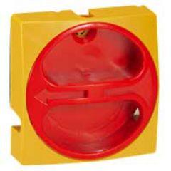 Manette - inter sectionneur rotatif - composable - cadenas - 20-63 A - jaune
