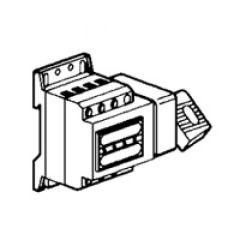 Inter-sectionneur Vistop - 32 A - 4P - cde lat - poignée rouge/plastron jaune