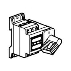 Inter-sectionneur Vistop - 32 A - 2P - cde frontale - poignée noire
