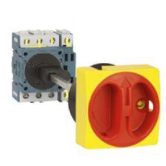 Kit pour commande rompue - inter sectionneur rotatif compo - axe court
