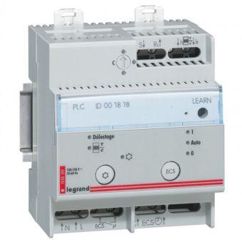 Gestionnaire d'énergie CPL - fil pilote - 4 modules