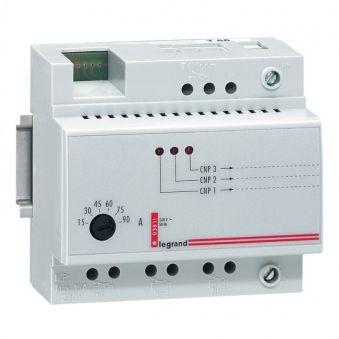 Délesteur monophasé - 230 V~ - 3 circuits délestés 15 A max - tore intégré