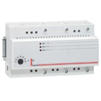 Délesteur triphasé - 400 V~ - 1 circuit délesté 15 A max - tore intégré