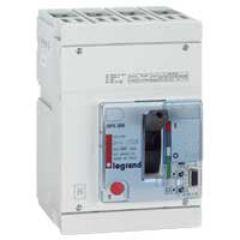 Disj puissance DPX 250 - électronique - 36 kA - 4P - 100 A