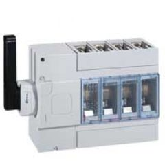 Inter-sectionneur DPX-IS 630 - 630 A - 4P - sans déclenchement - cde lat gauche