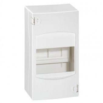 Coffret cache-bornes - 4 modules - blanc RAL 9010