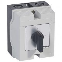 Commutateur - inter marche/arrêt - PR 17 - 3P - 3 contacts - boîtier 96x120 mm
