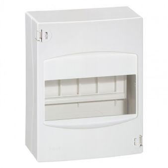 Coffret cache-bornes - 6 modules - blanc RAL 9010