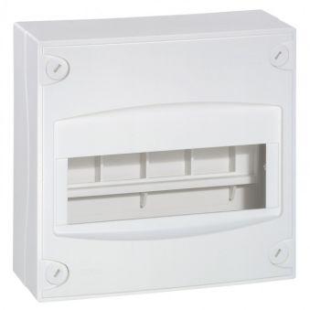 Coffret mini - 8/9 modules - blanc RAL 9010