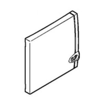 Porte coffret mini - 8/9 modules - blanc RAL 9010
