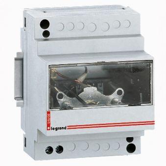 Ampèremètre analogique - branchement via transfo (T.I.)