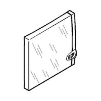Porte coffret mini - 8/9 modules - transparente