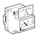 Cadran de mesure analogique pour ampèremètre 046 00 - 0-300 A