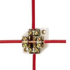 Plot de dérivation - passage du câble sans coupure - pour câble 25 mm²