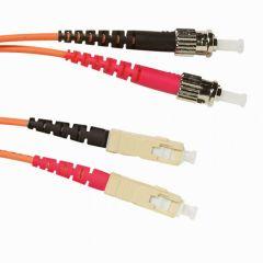 Cordon optique OM 2 multimode - ST/SC - L. 3 m