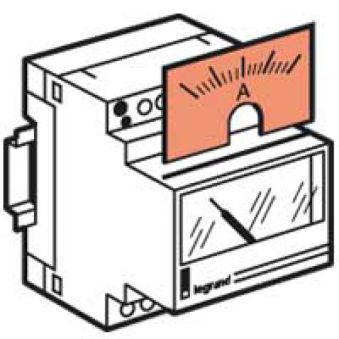 Cadran de mesure pour ampèremètre 046 00 - 0-1250 A