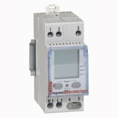Indicateur conso énergie - 1P - 230 V~ - compat compteur ERDF Tarif bleu