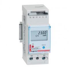 Compteur d'énergie monophasé EMDX³ - non MID - raccdt direct 63 A - 2 mod