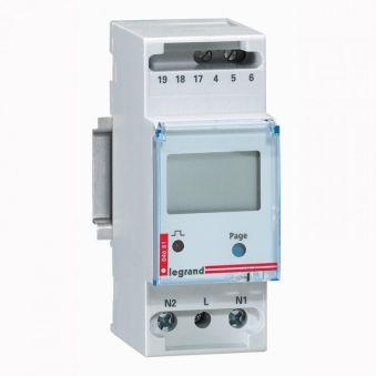 Compteur d'énergie monophasé EMDX³ - non MID - raccdt direct 36 A - 2 mod