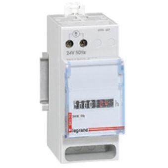 Compteur horaire totalisateur - affichage numérique - 24 V~ - 50 Hz