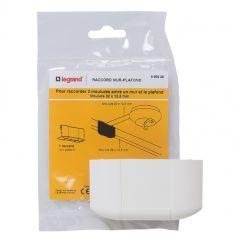 Dérivation à plat mur et plafond - pour moulure DLPlus 32/40x16 - blanc