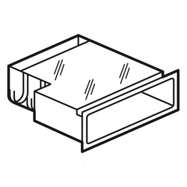 cassette fibre optique pour panneau de brassage lcs. Black Bedroom Furniture Sets. Home Design Ideas