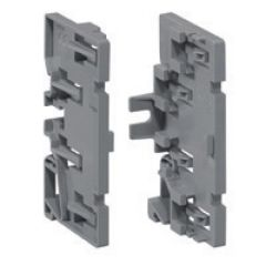 Support répartiteur - pour associer 4 borniers IP 2X de même dimension