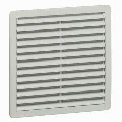 Ventilateur 120/160 m³/h - RAL 7035 - avec ouïe plastique - IP54 IK08