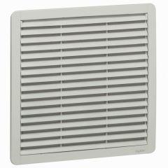 Ventilateur 400/900 m³/h - RAL 7035 - avec ouïe plastique