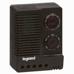 Hygrothermostat - 230 V~ - 50/60 Hz - réglable 0-60 °C et 50-90 % d'humidité