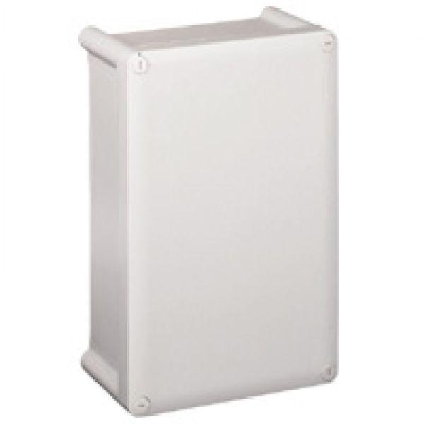 bo tier industriel plastique ip55 ik07 ral 7035 310x240x124 couv opaque achat vente. Black Bedroom Furniture Sets. Home Design Ideas