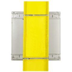 Kit de fixation sur poteau - pour coffret Atlantic/Inox/Marina larg. 400