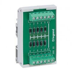 Module 10 diodes cathode commune - fixation rail sym ou asym