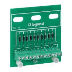 Module 10 diodes anode commune - fixation sur porte/plaque