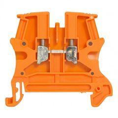 Bloc jonc Viking 3 à vis - 1 jonction/1 entrée/1 sortie - orange - pas 6