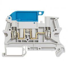 Bloc jonc Viking 3 à vis - 1 jonc - pr circuit de neutre - gris/bleu - pas 6