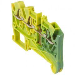 Bloc jonc Viking 3 à ressort - 1 jonc/3 conduc -1entr/2sort-vert/jaune - pas 5