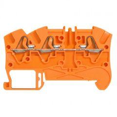 Bloc jonc Viking 3 à ressort - 1 jonc/3 conduct - 1entr/2 sort - orange - pas 5