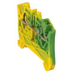 Bloc jonc Viking 3 à ressort - 1 jonc/2 conduc -1entr/1sort-vert/jaune - pas 5
