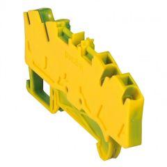 Bloc jonc Viking 3 à ressort - 1 jonc/4 conduc -2entr/2sort-vert/jaune - pas 6