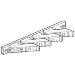 Support isolant - 1 barre par pôle jusqu'à 800 A - montage direct dans Altis