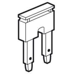 Peigne pour bloc jonc Viking 3 ressort - pour 2 blocs pas de 10 mm - rouge