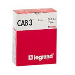 Lot de repères CAB 3 - chiffres pour câbles section 0,15 à 0,5 mm²